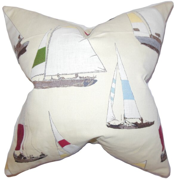 Patrick Coastal Floor Pillow by Longshore Tides