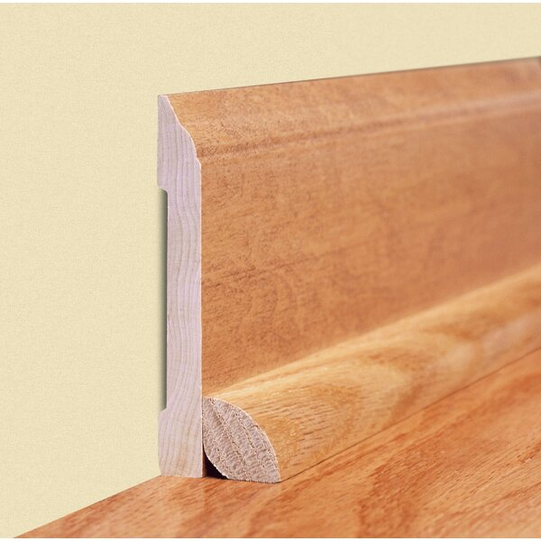 0.75 x 1.2 x 94 White Oak Quarter Round by Moldings Online