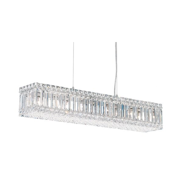 Quantum 10-Light Kitchen Island Pendant by Schonbek