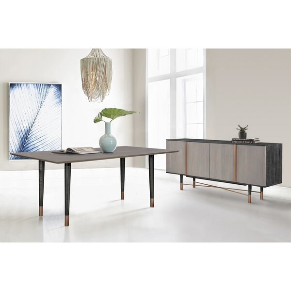 Chidi 2 Piece Solid Wood Dining Set by Everly Quinn Everly Quinn