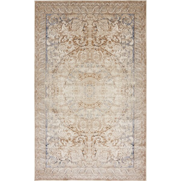 Abbeville Beige Area Rug by Laurel Foundry Modern Farmhouse