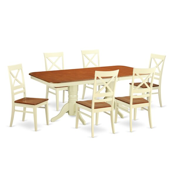 Napoleon 7 Piece Dining Set by Wooden Importers