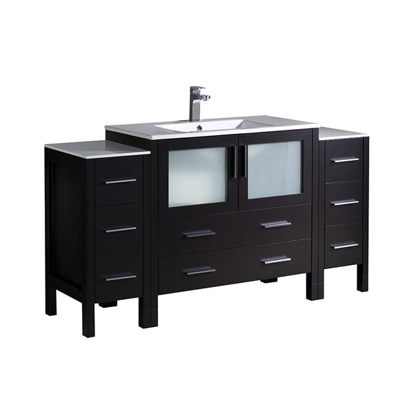 Torino 60 Single Bathroom Vanity Set by Fresca