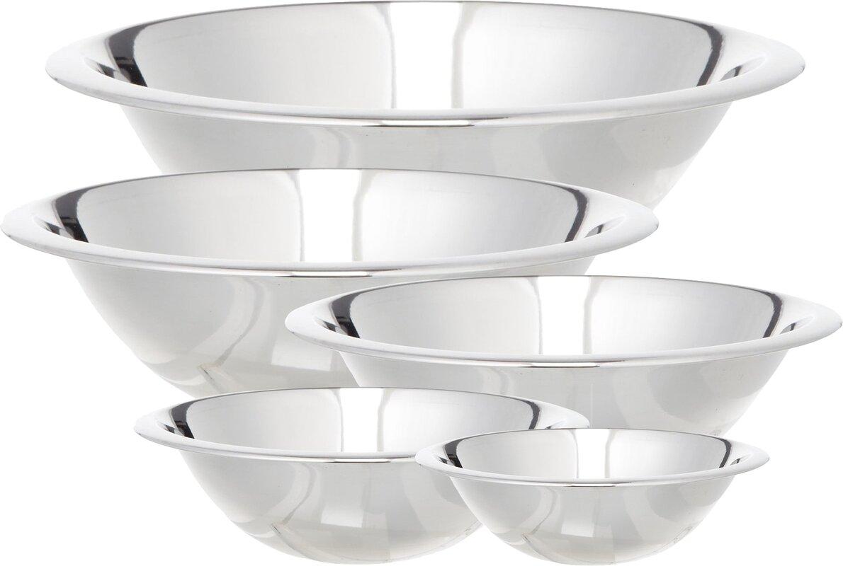 Stainless Steel Bowl Set | Wayfair