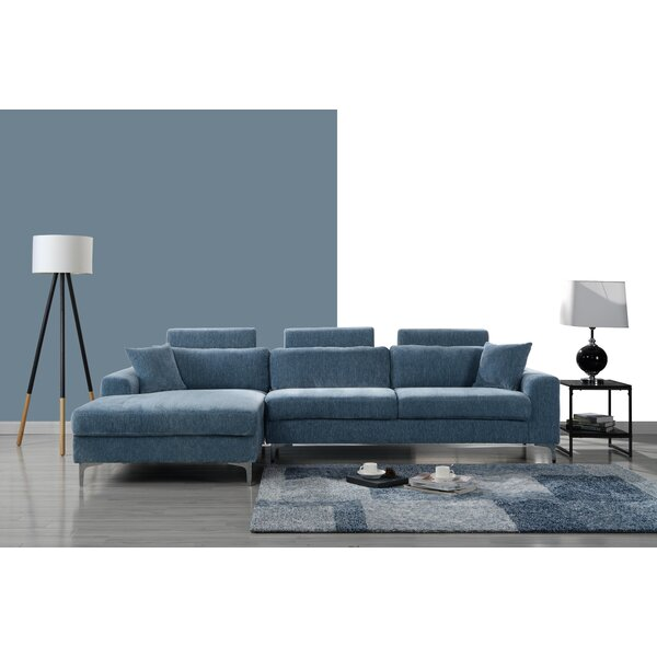 Mckain L Shape Sectional by Wrought Studio