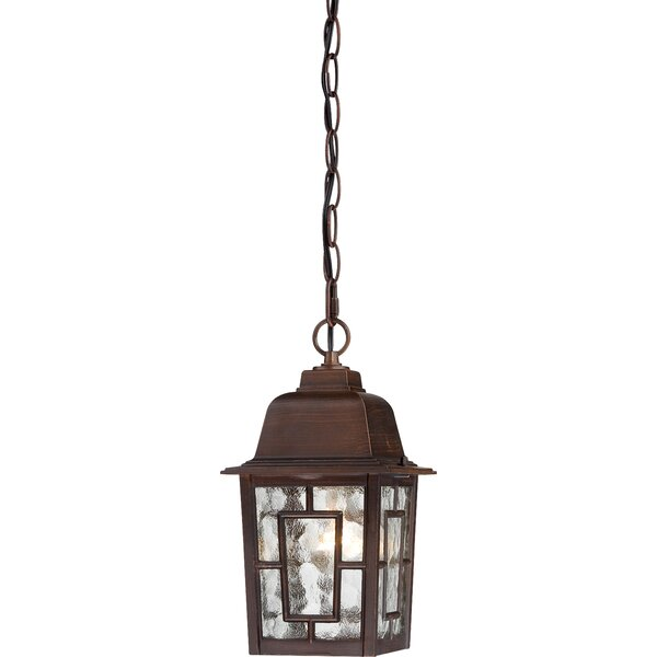 Timmons 1-Light Outdoor Hanging Lantern by Charlton Home