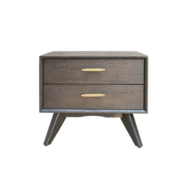 Lise 2 Drawer Nightstand by Corrigan Studio