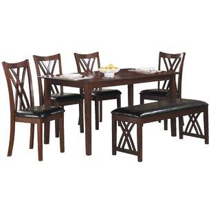 brooksville 6 piece dining set 6 piece kitchen  u0026 dining room sets you u0027ll love   wayfair  rh   wayfair com