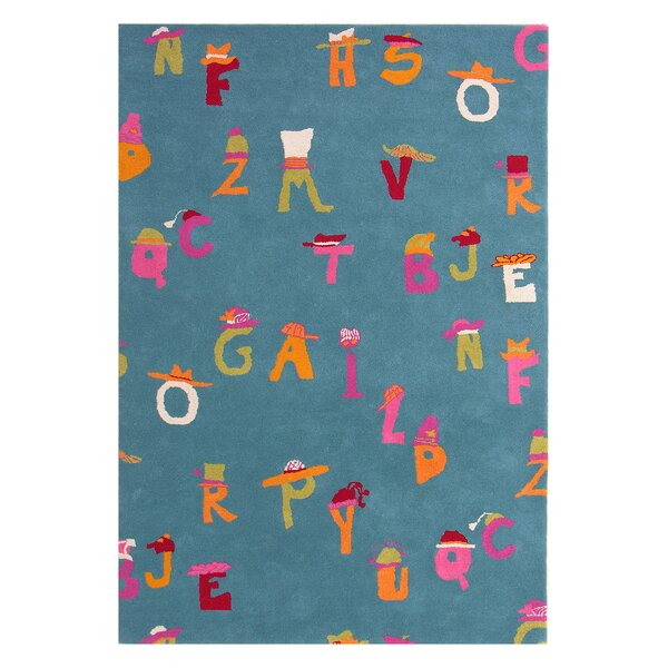 Fantasia Blue Alphabet Area Rug by Dynamic Rugs
