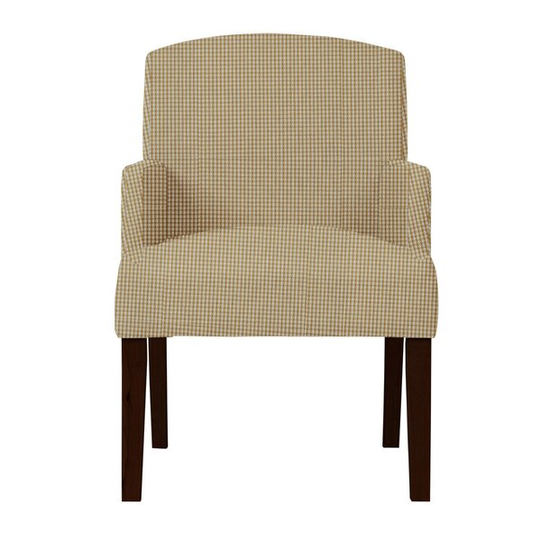 Arturo Cotton Formal Arm Chair by Langley Street