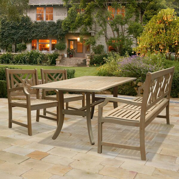 Densmore 4 Piece Dining Set by Darby Home Co