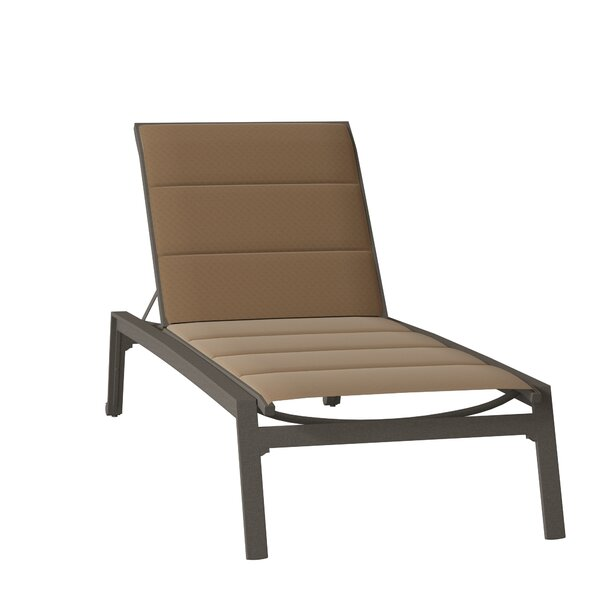 Elance Padded Sling Reclining Chaise Lounge by Tropitone