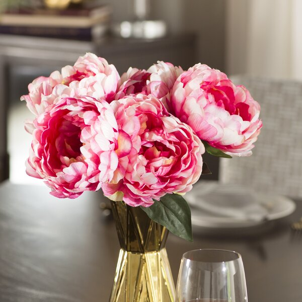 Peony Bunch Stem by Willa Arlo Interiors
