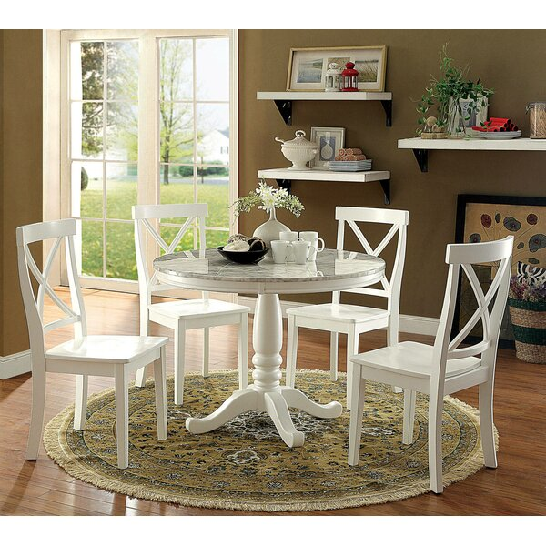 Arriola Round 5 Piece Dining Set by August Grove August Grove