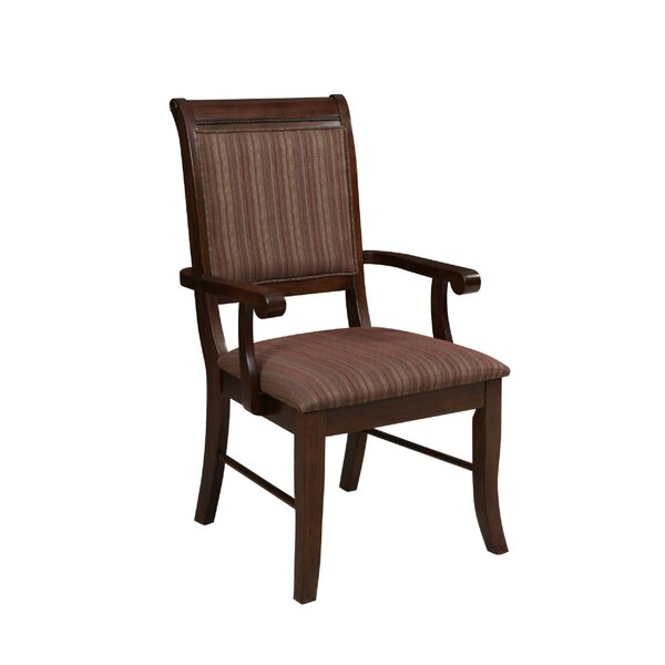 Palmateer Upholstered Dining Chair (Set of 2) by Charlton Home