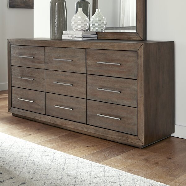 Gumpert 9 Drawer Dresser by Wrought Studio
