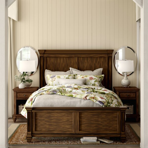Saunders Standard Bed by Birch Lane™ Heritage