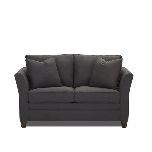 Expert Reviews Muldoon Sleeper Loveseat by Darby Home Co by Darby Home Co