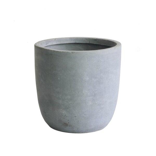 Modern Concrete Pot Planter by Kasamodern