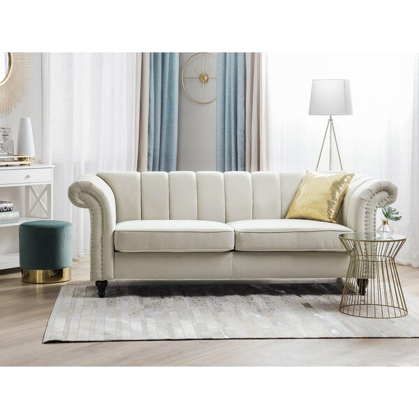 Santoro Chesterfield Sofa by Canora Grey