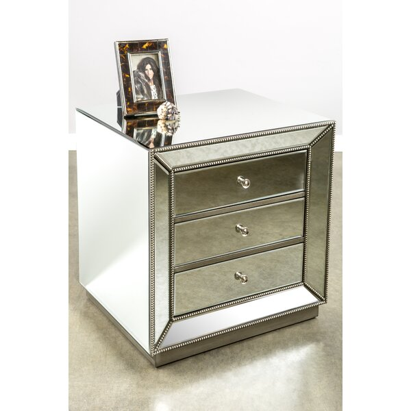 Mie 3 Drawer Nightstand By Rosdorf Park by Rosdorf Park Amazing