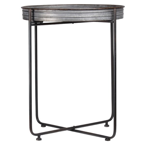 Rosaria  End Table by Gracie Oaks