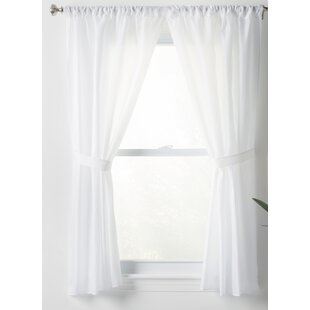 Bathroom Window Curtains Short
