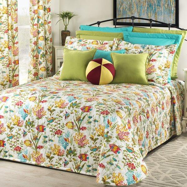 Maja in the Sea Single Bedspread