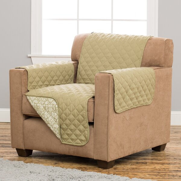 Katrina Box Cushion Armchair Slipcover by Home Fashion Designs