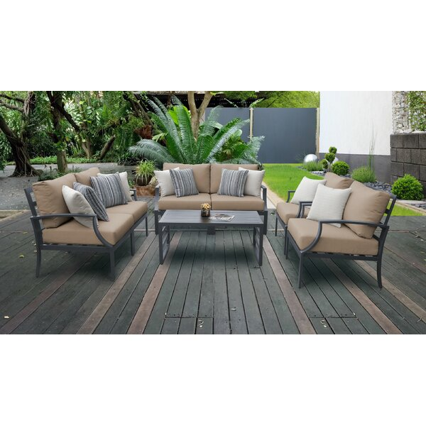 Benner 7 Piece Sofa Seating Group with Cushions by Ivy Bronx