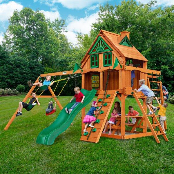 Navigator Treehouse Swing Set by Gorilla Playsets