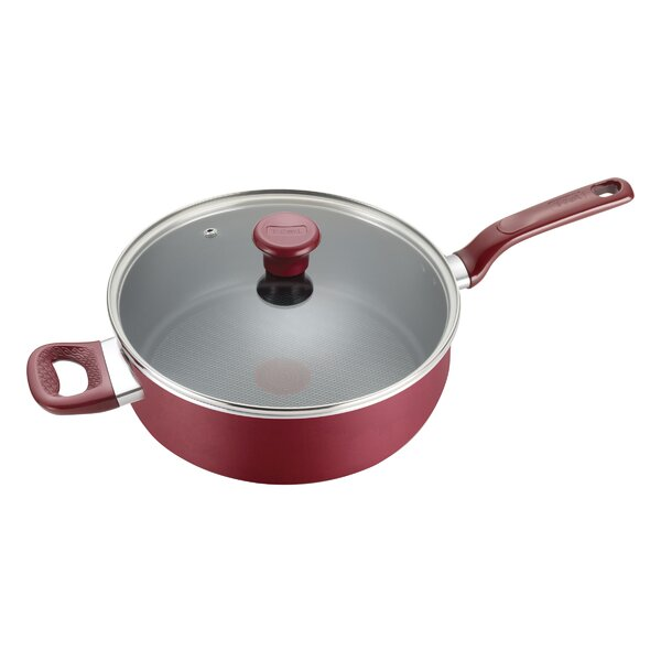 Excite 5 qt. Non-Stick Saute Pan with Lid by T-fal