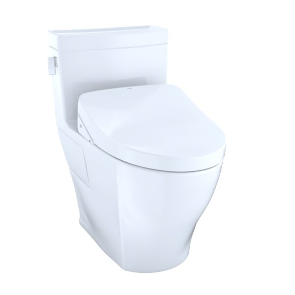 Legato 1.28 GPF Elongated One-Piece Toilet with Ewater+ by Toto