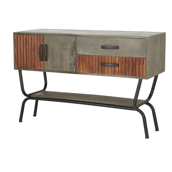 Kulick Industrial Accent Cabinet by Williston Forge