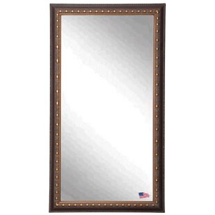 Darby Home Co Rectangle Traditional Bronze Wall Mirror