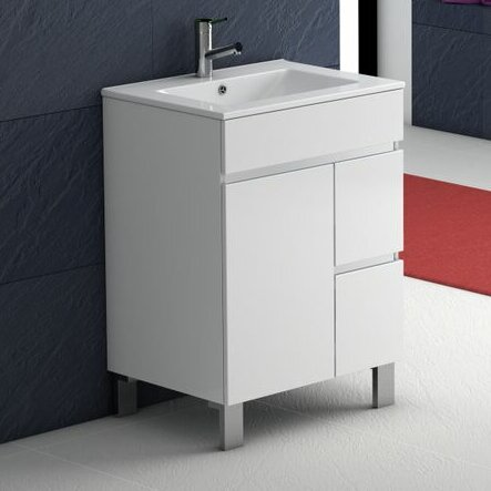Coraline 24 Single Bathroom Vanity Set by Orren Ellis