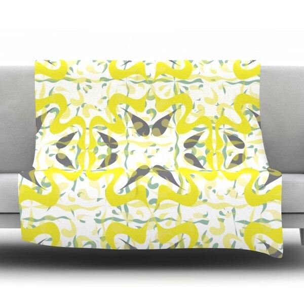 Azulejos Throw Blanket by KESS InHouse