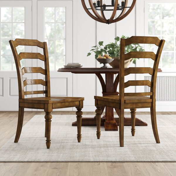 Mcmurry Ladder Back Side Chair (Set of 2) by Canora Grey Canora Grey