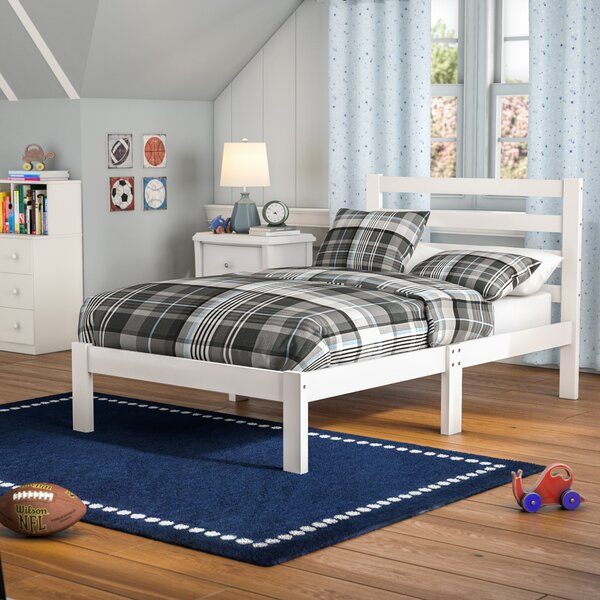 Charron Solid Twin Platform Bed by Harriet Bee