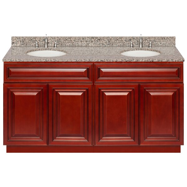 Littlehampt 60 Double Bathroom Vanity Set by Charlton Home