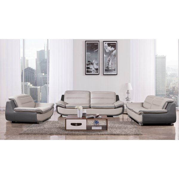 Victorino 3 Piece Living Room Set by Latitude Run