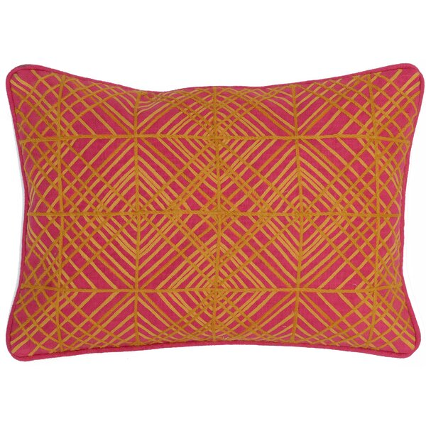 Kropp Cotton Lumbar Pillow by Bungalow Rose