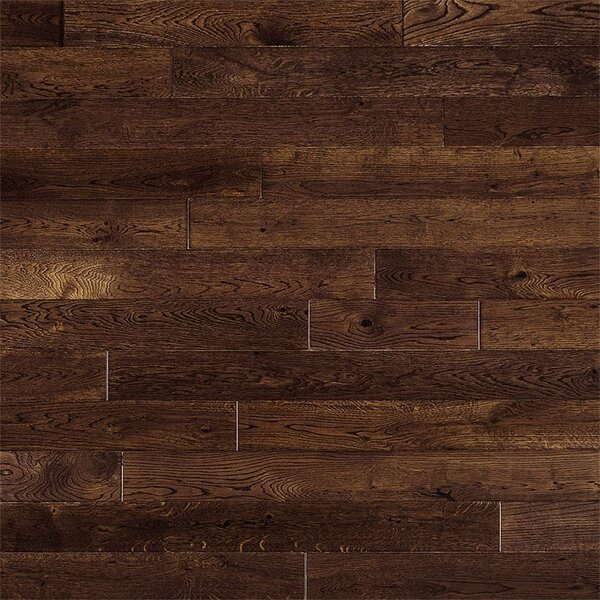 Beckett French 3-1/2 Solid Oak Hardwood Flooring in Gunstock by Welles Hardwood