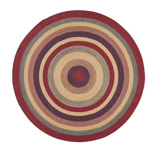 Pheobe Red/Brown Area Rug by August Grove
