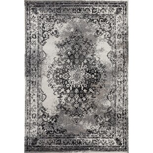 Best Deals Gries Oriental Anthracite Area Rug By Alcott Hill