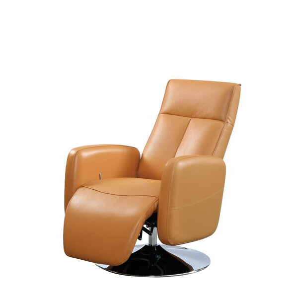 Lucama Leather Power Recliner By Latitude Run