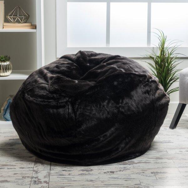 Faux Fur Classic Bean Bag By Three Posts Teen