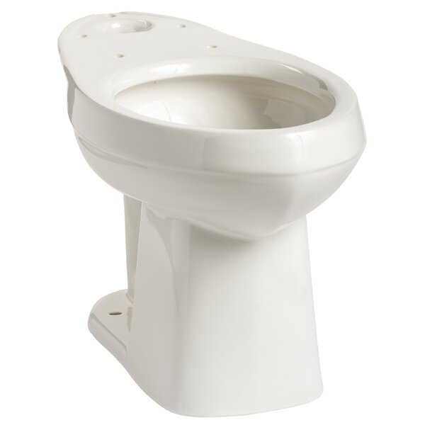 Quantum SmartHeight 1.28 GPF Elongated Toilet Bowl by Mansfield Plumbing Products