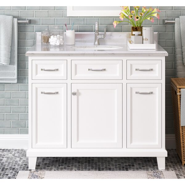 Tristian 42 Single Bathroom Vanity Set by Charlton Home