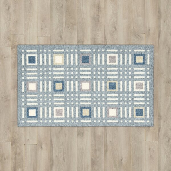 Derrick Blue Area Rug by Ebern Designs